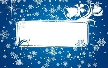 banner,bell,celebration,christmas,decoration,frame,holiday,ornament,snow,snowflake