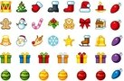 icon,menu,item,christmas,holiday,celebration,drum,sock,santa,reindeer,snowman,elf,snowflake,bulb,light,gift,package