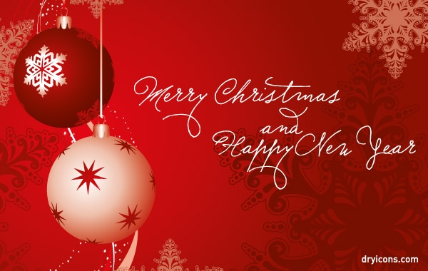 Merry Christmas And Happy New Year Clipart Images