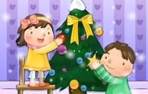 christmas,child,tree,xmas,season,seasonal,arrange,arranging,ball,boy,girl,wallpaper