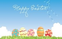 tree,landscape,card,holiday,beautiful,easter,egg,nature