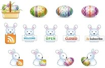easter,icon,bunny,egg,rss,element