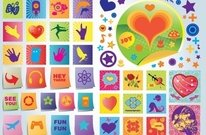 amusement,badge,button,art,footage,fun,gaming,heart,joy,love,music,stock,valentine,icon