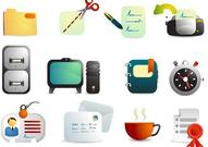 computer,icon,office,printer,scissors