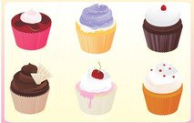 cupcake,food,sweet,delicacy,confectionery,bake,good,baking