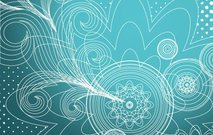 blue,wallpaper,background,floral,transparent,flower,swirl,card,concept,element