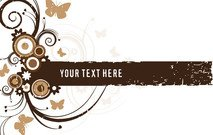 brown,frame,grunge,swirl,butterfly,swirly,grungy,background,element