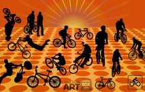 bicycle,bike,exhibition,extreme,game,x,sport,trekking,outdoors,biker,rider,couple