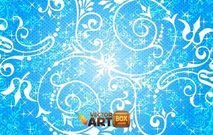 floral,flower,swirl,blue,background,wallpaper,backdrop,shining,shiny,sparkling,ornament,decoration,flourish