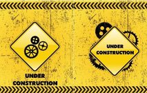 construction,warning,sign,gear,symbol,grunge,diamond,yellow,caution,background,wallpaper