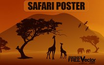 illustration,poster,animal,animals silhouette,bird,elephant,forest,giraffe,nature,safari poster,silhouette,animals,backgrounds & banners,buildings,celebrations & holidays,christmas,decorative & floral,design elements,fantasy,food,grunge & splatters,heraldry,free vector,icons,map,misc,mixed,music
