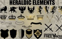 heraldic,animal,arm,banner,coat,crown,eagle,element,emblem,heraldry,king,knife,lion,medieval,metal,placard,ribbon,scroll,shield,silhouette,sword,weapon
