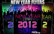 template,flyer,abstract,celebration,colorful,dance,new year,party,people,raylight,silhouette,skyline,star