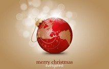 xmas,christmas,ball,sphere,earth,world,abstract,red,shiny,illustration,reflection,reflective