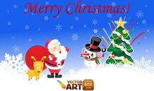 christmas,greeting card,xmas,santa,reindeer,christmas tree,winter,holiday,snowflake,celebration,seasonal,tree,decor,decorstions,claus,snowman,deer,snow,box,christmas deer,free christmas vector,gift,santa claus,x ma,x-mas tree,animals,backgrounds & banners,buildings,celebrations & holidays,christmas