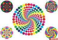 op art,circular motif,background,pattern