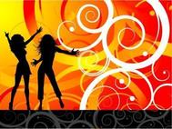 dancing,silhouette,woman,party,female,people,abstract,background,dancing,silhouette,women,dancing,silhouette,women