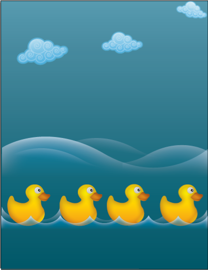 Water ducks clip arts, free clipart - ClipartLogo.com