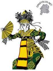 bali,dancer,indonesia,vector