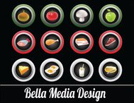 meat,button,fruit,veggie,grocery,food,vegetable,fish,produce,icon