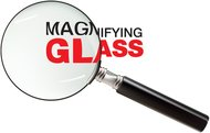 big text,magnify,magnifying glass,zoom,science,big,text,magnifying,glass,science
