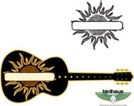 sun guitar graphic,sun,guitar,banner,music,instrument,solar,musical,string instrument