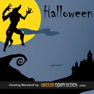 hallowing,halloween,horror,wolf,werewolf,night,castle,full moon,night in horror