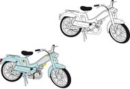 motorcycle,bike,motorbike,moped,bicycle,automobile,motor,vehicle,motor vehicle