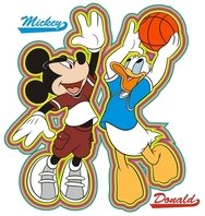 mickey,donald,disney,basketball,sport,character,cartoon,duck,mouse,story