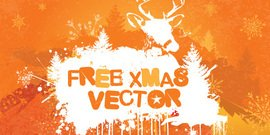 xmas,christmas,vector,free,orange