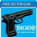 gun vector,gun,war,military,weapon,pistol,police,army,firearm,side,arm,shirt,tshirt,factory,9mm,.45,caliber,hand gun