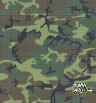 tommy brix,pixel,raster,camouflage,militaray,brown,green,creme,army