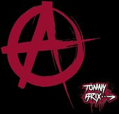 tommy brix,pixel,anarchy,sign,symbol,politics,freedom,blood,black,red