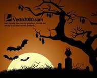 dark,night,bat,tree,horror,halloween,grass,abstract,holiday