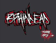 tommy brix,pixel,braindead,grunge,ruff,red,black,white,stroke,skribble