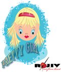 pretty girl,girl,toon,cartoon,fashion,rajeev,t shirt design,kid