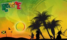 reaggae,music,bob marley,jamaica,flag,sunset,beach,scenery,dreadlock,cannabis