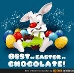 chocolate,egg,bunny,easter,rabbit,eating,sweet