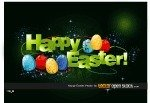 easter,happ,egg,text,effect,abstract,green,celebration,seasonal,happy,egg,effect