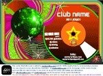 club,poster,template,music,mirror,ball,disco,dance,dj,clubbing,free