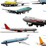 vector plan,vector airplane,vector aeroplane,aeroplane,airplane,plane,boeing,airbus,747,757,vehicle,transport,transportation,real,realistic
