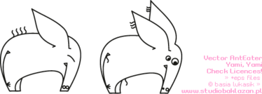 ant,anteater,curve,simple,animal,outline,cartoon,cartoon animal