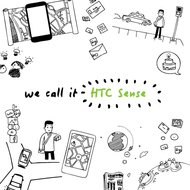 htc sense,htc,quietly brilliant,htc doodle,htc drawing,technology,phone,cell phone,doodle