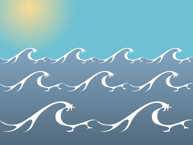 ocean  sea waves vector clip arts  free clip art blue flower clip art free blue flower clipart watercolor