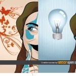 nice,creative,girl,idea,light bulb,hot,swirl,abstract,butterfly,background,lightbulb,swirl
