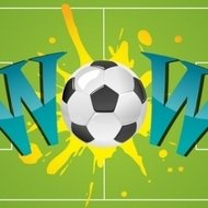 bang,poster,soccerball,soccer,ball,football,illustration,field,playground