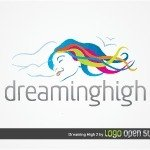 lady,woman,sleeping,rest,recreation,dreaming,health,medical,elegant,resting,dream,astral,logo,template,logotype,swirl,text,simple,color,colorful,dream,color