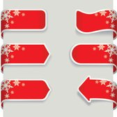 banner,celebration,christmas,label,pointing,ribbon,snow,snowflake,arrow sign,promotion