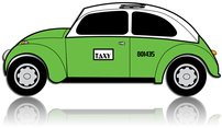 car,taxi,mexico city,automobile,vehicle,taxi cab,green cab
