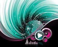 abstract,background,button,discoball,illustration,play,sound,illustration,music,trend,vector,graphic,guitar,plug,pl,trs,jack,connector,shape,black,green,swirl,wave,speaker,driver,eq,equalizer.graphics,mirror,ball,disco